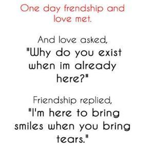 friendship meets love