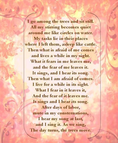 wendell berry poem