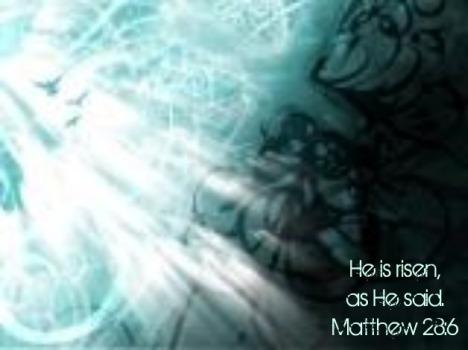 Matthew 28 6