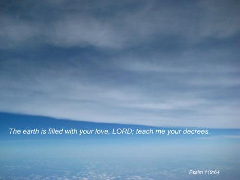 Psalm 119:64
