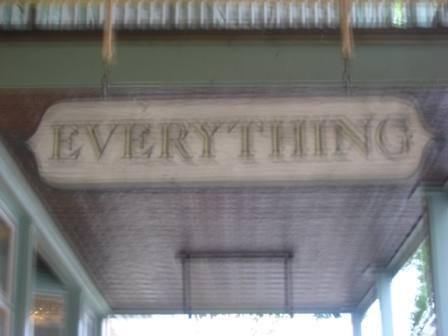 everything blurs