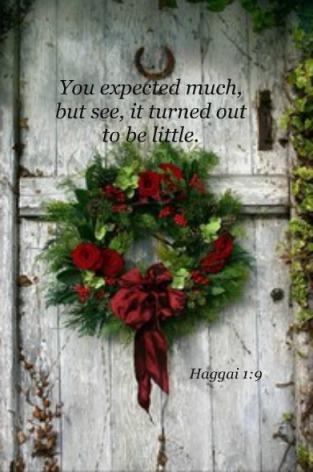 Haggai 1:9
