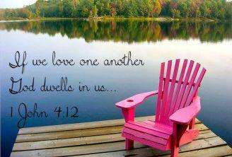 1 John 4 12