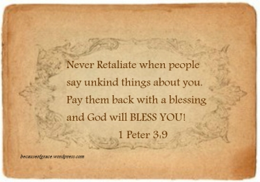 1 Peter 3:9 designed by Teague