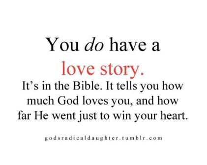 beloved you do have a love story