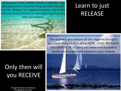 learn to release