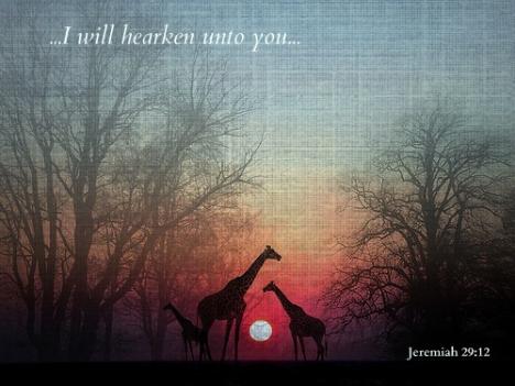 Jeremiah 29:12