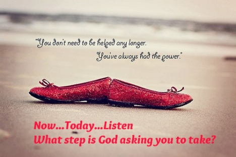 what step is God asking you to take