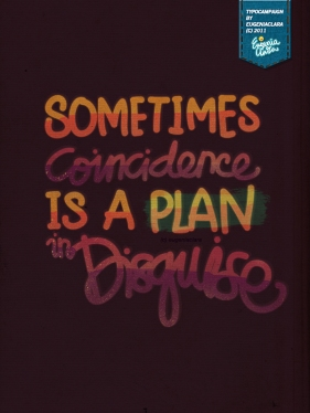 sometimes coincidence is a plan in disguise