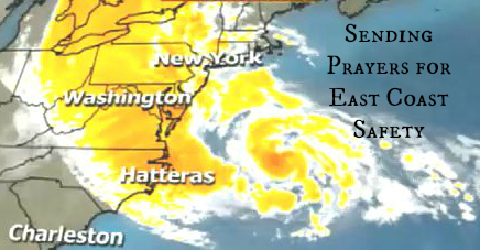 sending prayers for East Coast Safety