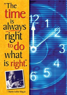 time is always right