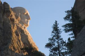 washington on rushmore