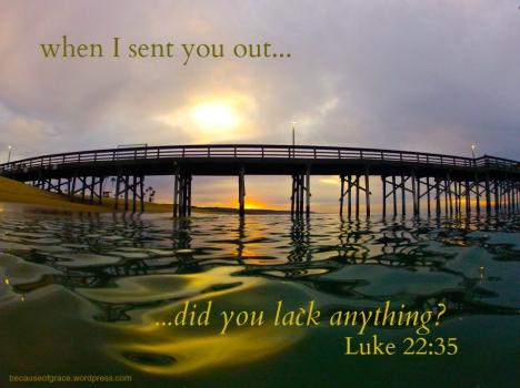 Luke 22:35