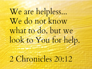 2 Chronicles 20:12