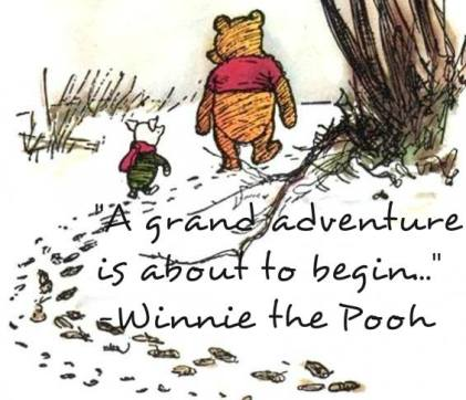 pooh new year