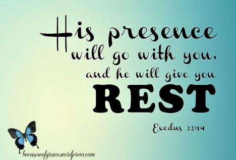 Exodus 33:14