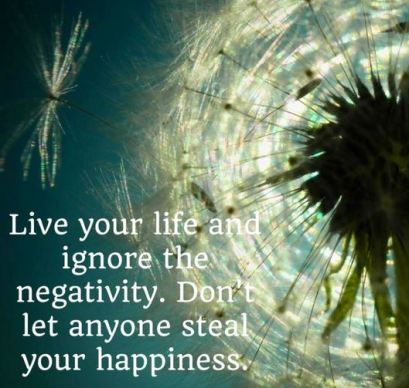 Ignore Negativity