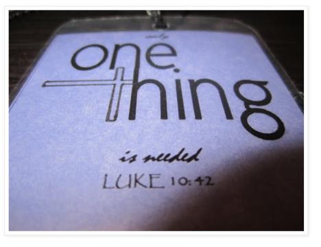 Luke 10:42