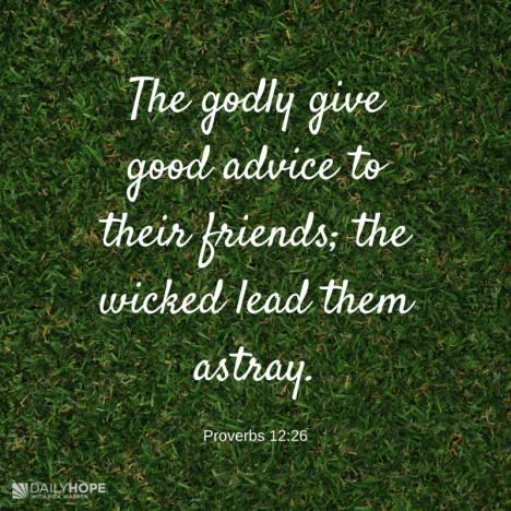 Proverbs 12:26