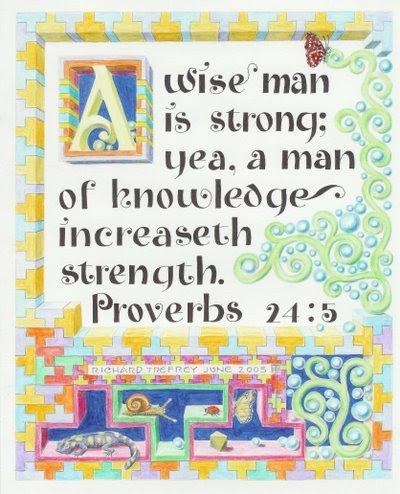 Proverbs 24-5