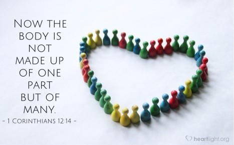 1 Corinthians12:12